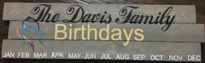 Birthdays-with-family-name-11x36