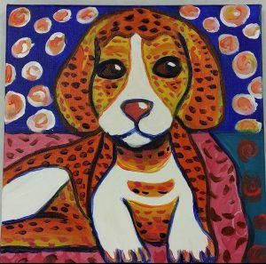 Impressionist Dog
