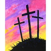 Easter Sunrise Silhouette