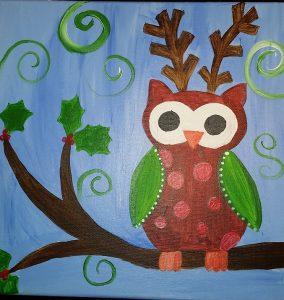 Holiday Owl