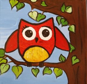 Owl Caricature