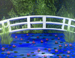 Bridge Over Lilies